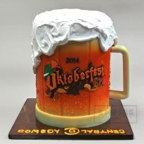 Oktoberfest Beer Stein for Comedy Central