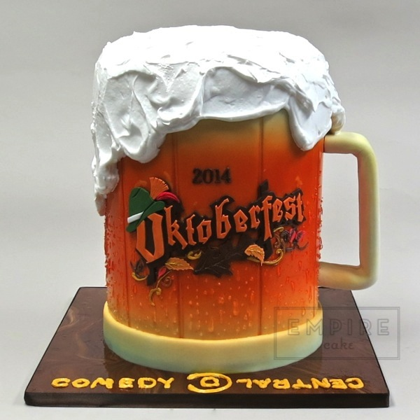 Oktoberfest Beer Stein For Comedy Central Empire Cake