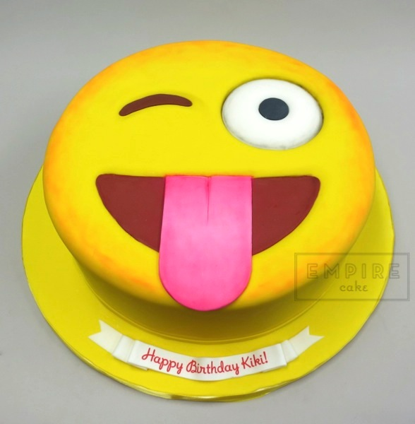 Emoji Empire Cake
