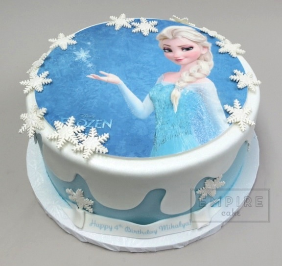 Edible Cake Pictures Frozen : Elsa from Frozen (Edible Image) - Empire Cake