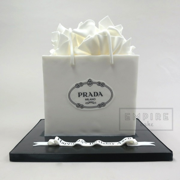 Prada shopping bag