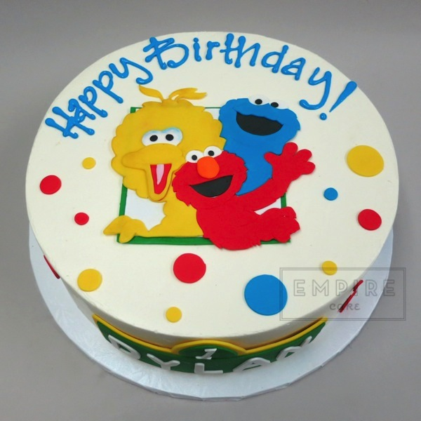 Sesame Street with Smash Cake Empire Cake