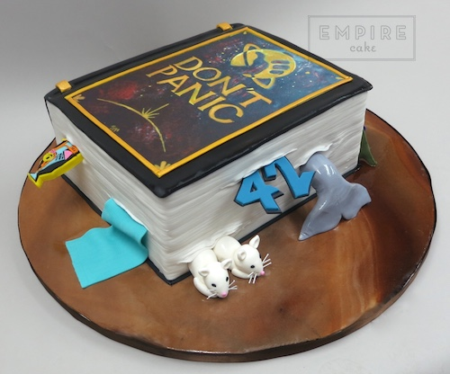 Hitchhiker S Guide To The Galaxy Empire Cake