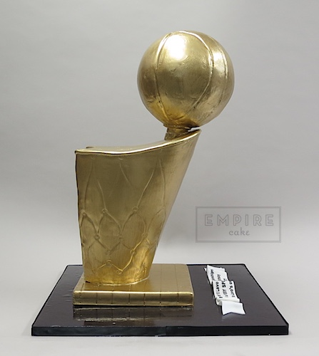 NBA Championship Trophy - Empire Cake