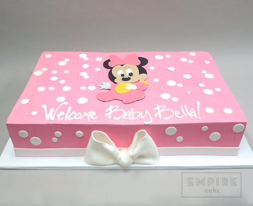 Minnie Mouse Baby Empire Cake