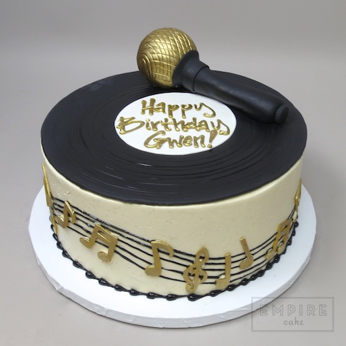 Microphone Cake Ideas