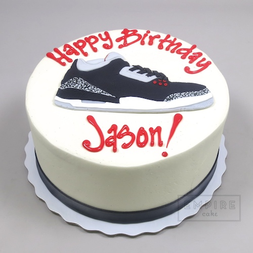 Favorite Sneaker Air Jordan 3 version Empire Cake