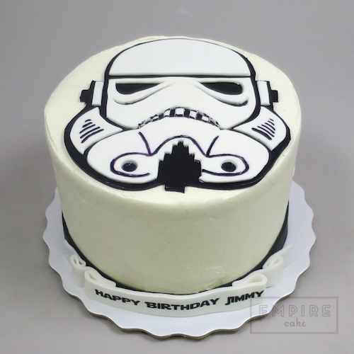 Stormtrooper Wedding Cakes