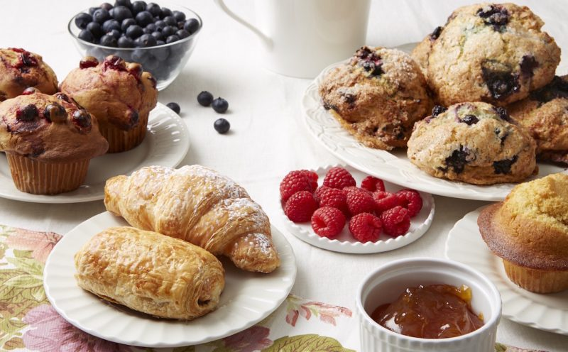 Breakfast Pastries