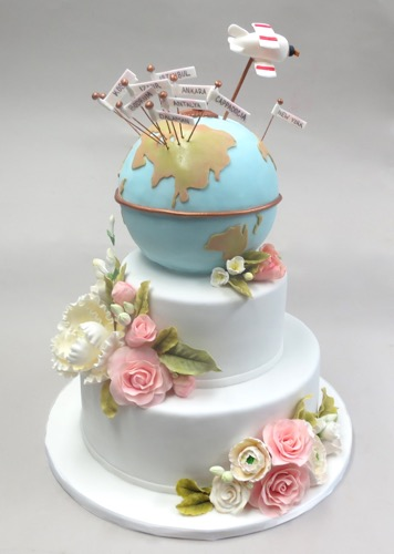 World Travelers Empire Cake