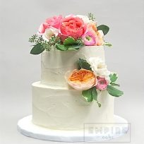 Buttercream with Blossoms