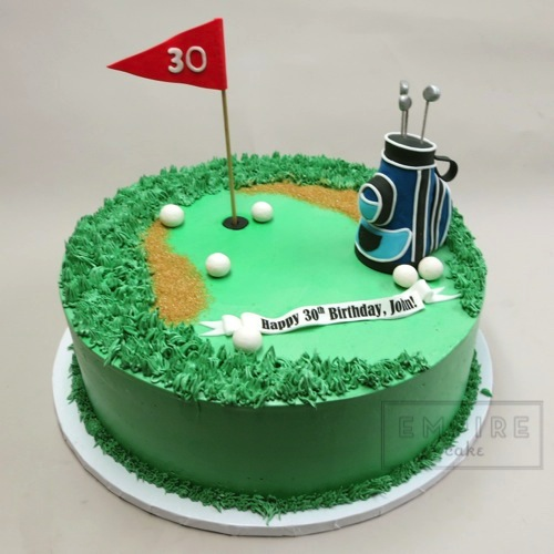 Golf Course Wedding Ideas: Empire Cake
