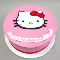 Hello Kitty (flat fondant)