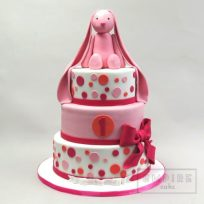 Pink Bunny Birthday