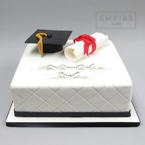 Rolled Diploma & Mortarboard
