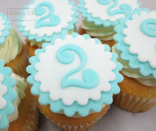 2nd Birthday Cupcakes