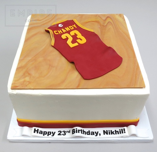 Miraculous Basketball Jersey On The Court Empire Cake Funny Birthday Cards Online Kookostrdamsfinfo