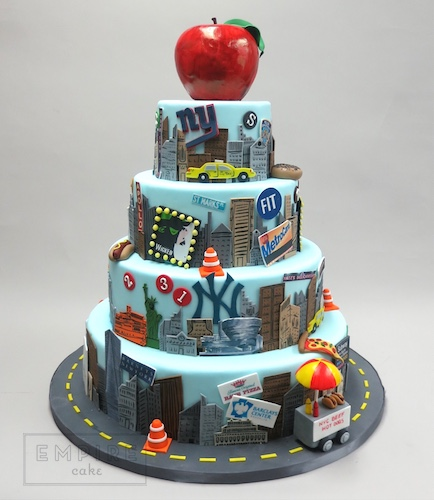 New York Decorated Cakes