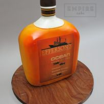 Bourbon Bottle