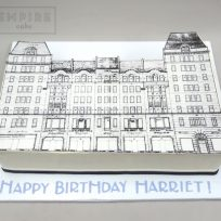 Building Facade Edible Print