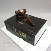 Law Book & Gavel