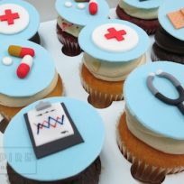 Just-What-the-Doctor-Ordered Cupcakes