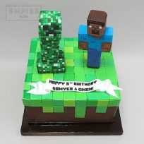 Minecraft Creeper & Steve