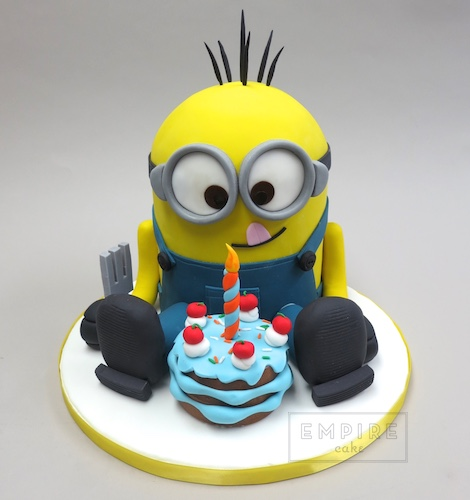 St Birthday Cake Minion