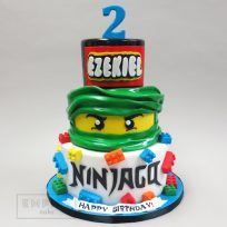 Lego Ninjago (three tier)
