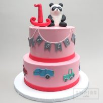 Panda with Cars