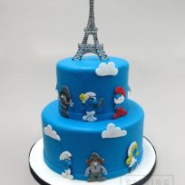 The Smurfs Take Paris?