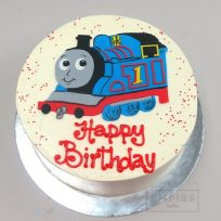 Thomas the Tank Engine (flat fondant)