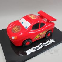 Lightning McQueen (Sculpted Cake)