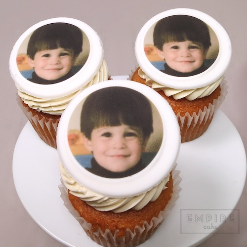 Personal Photo Edible Print Cupcakes