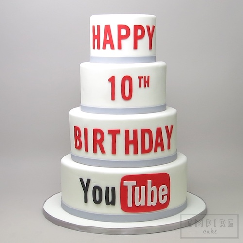 Miraculous Youtube Empire Cake Personalised Birthday Cards Paralily Jamesorg