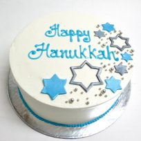 Happy Hanukkah (single tier)