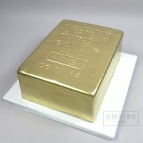Gold Bar Birthday