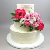 Textured Buttercream & Peonies