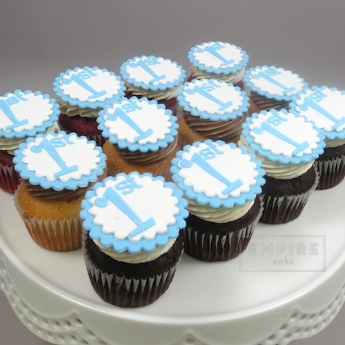 Number Cupcakes on Scalloped Disks