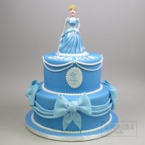Disney Cinderella (two tier)