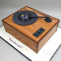Record Player with Single