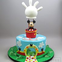 Mickey Mouse Clubhouse with Balloon