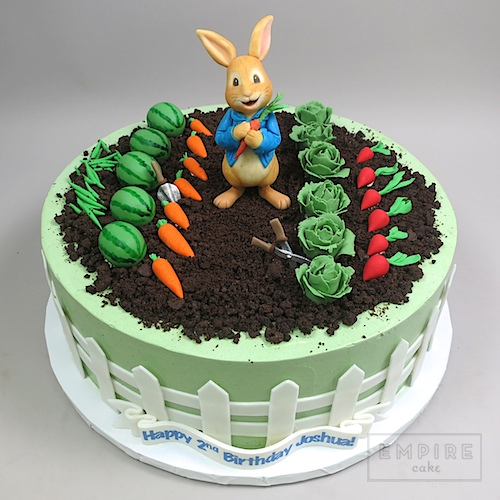 Rabbit Birthday Cake