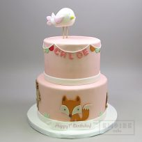 Woodland Creatures (two tier)