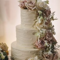 Rose Cascade & Textured Buttercream