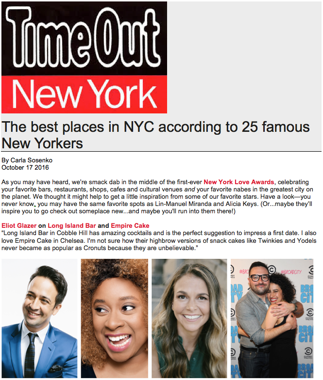 Time Out NY Article