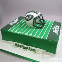 Football Field & Helmet (Jets version)