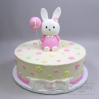 Miffy with Pink Balloon