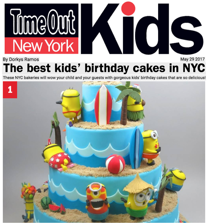 Time Out New York Empire Cake