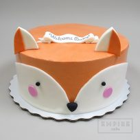 Empire Cake Collection Fox Shower